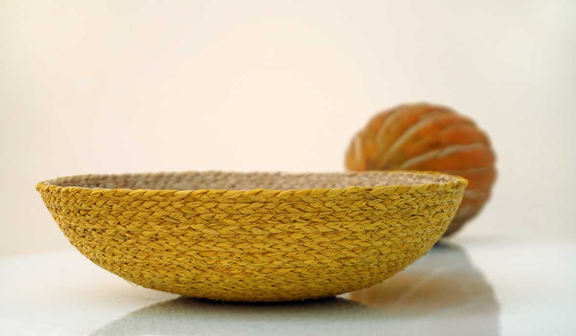 basket bowl handmade